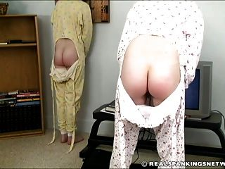 Two Girl Bedtime Paddling