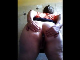 Fat Granny Masturbates For Me