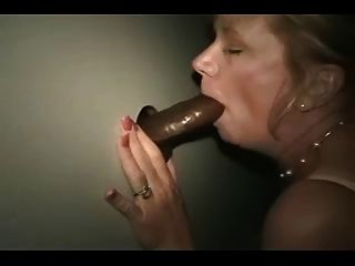 Mature Wife Takes Black In A Gloryhole