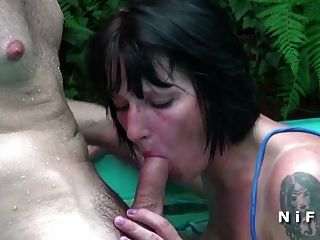 French Mom Hard Sodomized And Fist Fucked By The Gardener