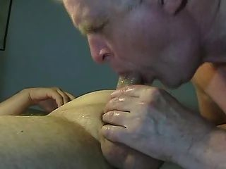 Grandpa Works On Not Daddy Cock