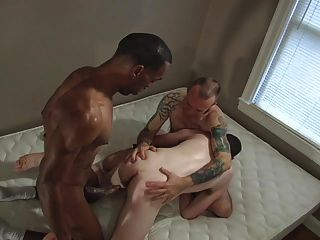 Daddy Shares Boy With Black Stud