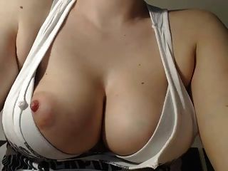 Busty Milf  Puffy Nipples