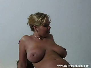 Bbw Blonde Dutch Milf Fuck Babe
