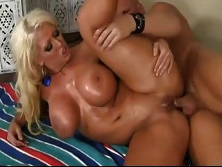 Busty Blonde Milf Gets Her Big Ass Nailed