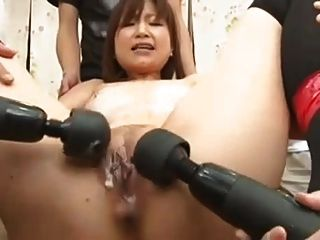 Japanese Woman Gangbanged By A Group Of Men