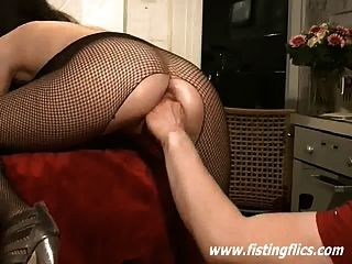 Hot Amateur Slut Fisted In Both Her Holes