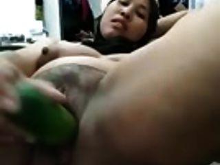 Malay- Tudung Lady From Malaysia Masturbating