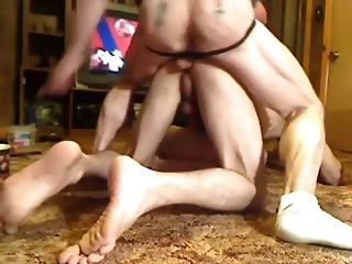 Master And Friend Playing With Slave Boy
