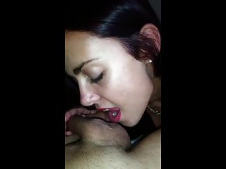 Hot Gf Blowjob And Facial Pov (re-upload)