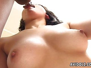 Her Soaking Wet Pussy Feels So Good To Him