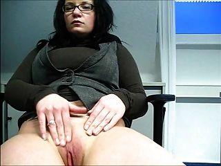 Am Arbeitsplatz Diskret Masturbiert