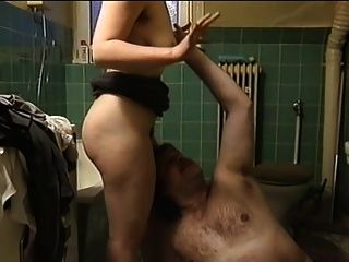 Chubby Girl With Hairy Pussy, Armpits & Saggy Tits -no Audio