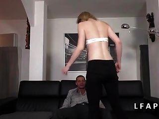 Toute Jeune Et Jolie Francaise Sodomisee Pour Son Casting