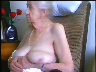Granny With Grey Hair And Nice Tits
