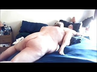 Mature Bhm And Bbw Watch Porn And Have Sex.