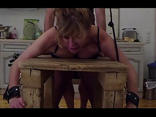 At The Bench-little Sunshine Milf Fucked, Spanked And Pluged