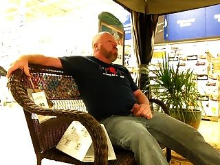 Stroking Cock In The Store