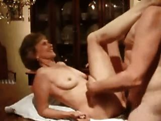 Old Wife Table Fuck