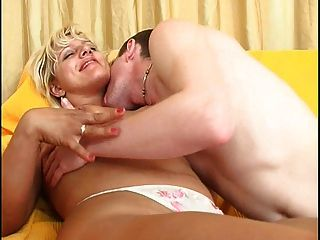 Pretty Blonde Milf Goes Anal