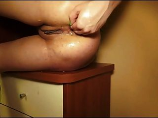 Nasty Slut Bella - Squirt And Prolapse  By Cezar73