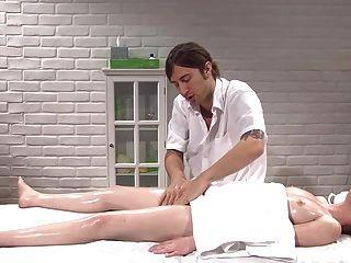 Massages The Body Then Fucks