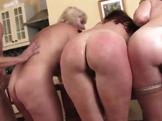 1 Guy For 3 Horny Matures