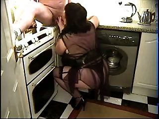 Linda - Blowjob In The Kitchen