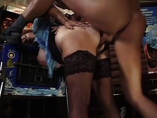 Milf Barkeeper Get Fucked By A Younger Customer