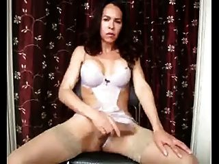 Sexy Ladyboy Ice Heated Masturbation