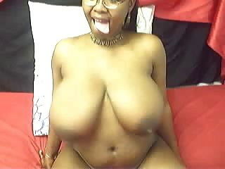 Busty Ebony Webcam 3