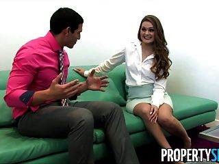 Propertysex - Abby Cross Is A Naughty Real Estate Agent