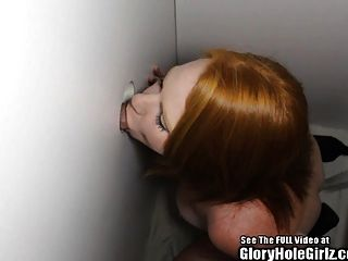 Big Tits Red Head Anal Glory Hole Slut!