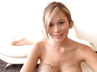 Blonde Cam Girl Toys Her Pussy