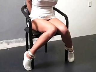 Chair Tied Pretty In Tennis Socks