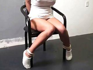 Chair Tied Pretty In Tennis Socks