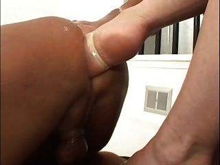 Goddess Heather Double Foot Fisting