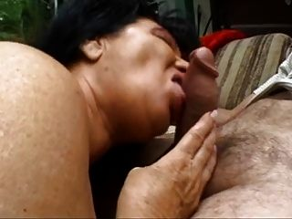 Mature Granny Getting That Cock