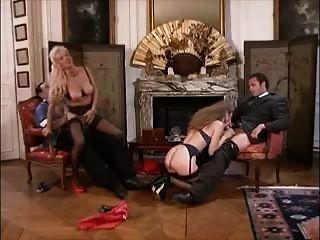Vintage German Group Sex