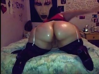 Ssbbw Shaking & Slapping Her Oiled Ass