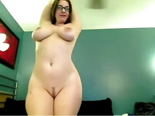 Cute Chick With Hot Body Big Boobs And Glasses