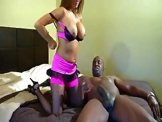 Big Tits Milf Enjoys Sucking Black Guys Big Cock