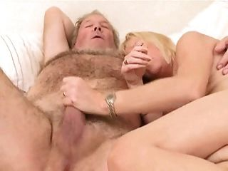 Experient Couple - Granny Wife And  Old Husband