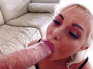 Incredible Monster Facial Cumshot With Jenna Ivory