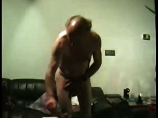Young Man Pleasing Grandpa