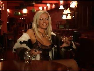 The Bulgarian Pop-folk Singer Kamelia In A Playboy