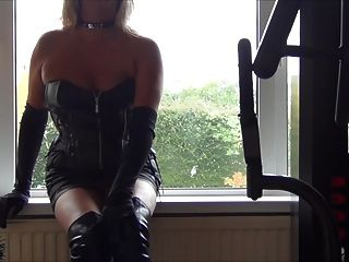 Slut In Leather