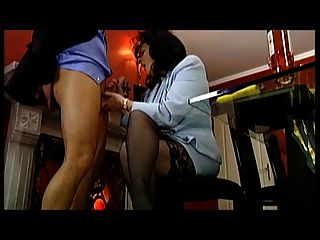 Business Mature Woman Fucked Hardly By The Majordom