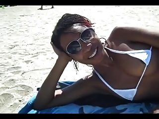 Nude Beach - Hot Ebony