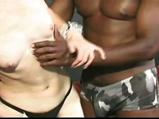 Skinny Maid Interracial